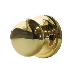 ドアノブ(空錠)真鍮メッキ