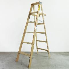 5ステップラダー(木製脚立)