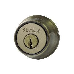 本締り錠(サムターン付)アンティークブラス