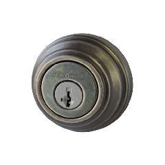 本締り錠(サムターン付)ラスティックピューター