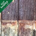 ティンパネル(錆びトタン板 A) カットサンプル