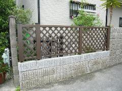 ブロック塀・フェンスの設置施工例