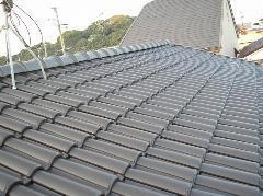 藤井寺市M様邸屋根葺き替え工事施工例