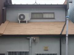 堺市 H様邸 屋根ガイナ塗装工事