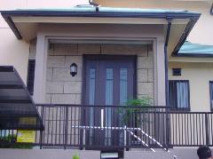 富田林 Y様邸 玄関まわり塗装工事