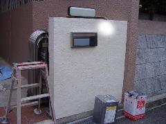 和歌山 T様邸 玄関まわり塗装工事