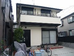 宝塚市 N様邸 外壁・屋根ガイナ塗装工事施工例