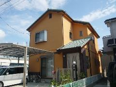 堺市西区 S様邸 外壁・屋根ガイナ塗装工事施工例