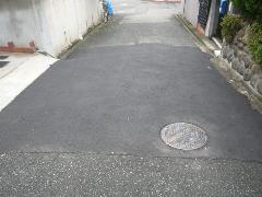 堺市 K様邸 前面道路舗装工事