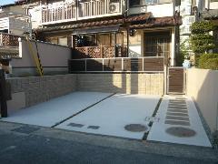 和泉市光明台 M様邸 駐車場増設工事施工例