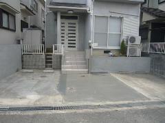 枚方市藤阪元町 K様邸 駐車場増設工事施工例