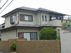藤井寺市野中 K様邸 屋根・外壁ガイナ塗装工事施工例