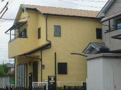 吹田市 S様邸 屋根・外壁ガイナ塗装工事施工例