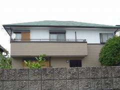 藤井寺市小山 S様邸 屋根・外壁ガイナ塗装工事施工例
