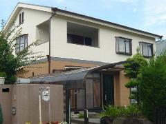 河内長野市 E様邸 屋根・外壁ガイナ塗装工事施工例