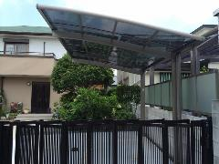 藤井寺市小山 S様邸 カーポート取付工事施工例