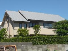 西宮市 Y様邸 屋根・外壁ガイナ塗装工事施工例