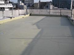 東京都文京区コーポ屋上