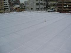 東京都足立区 マンション屋上防水改修工事