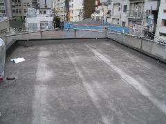 東京都港区 一軒家屋上シート防水