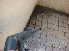 大田区 戸建ベランダウレタン塗膜防水工事