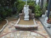 シンボルの花壇