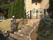 アンティークMIXの階段