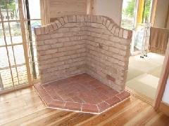 薪ストーブ炉台