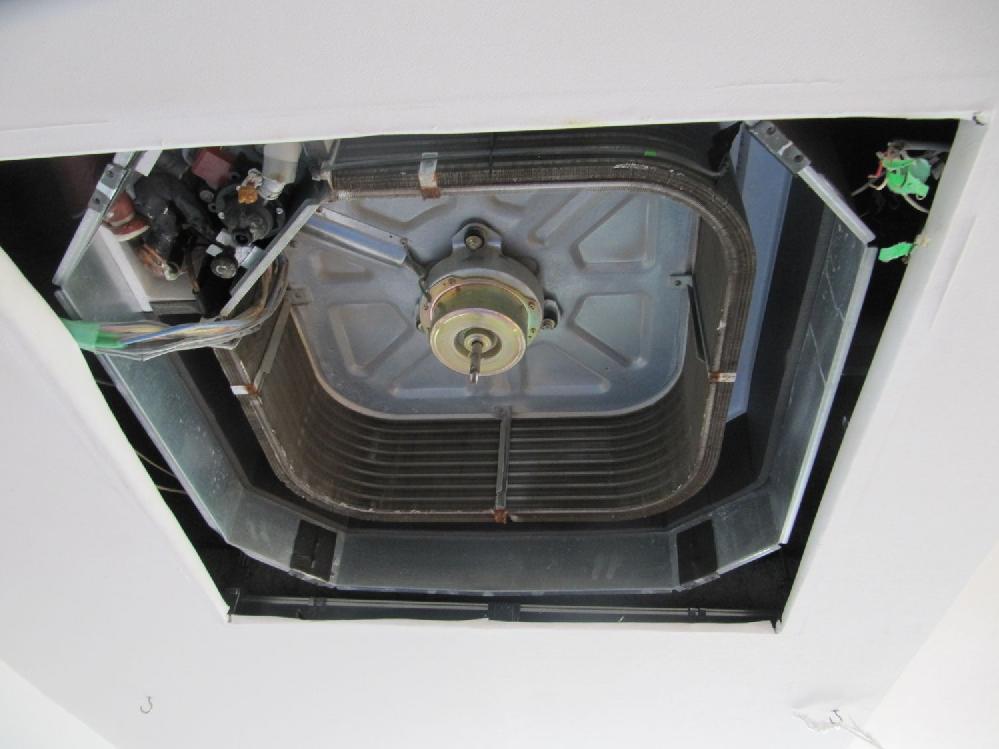 エアコン分解後の写真