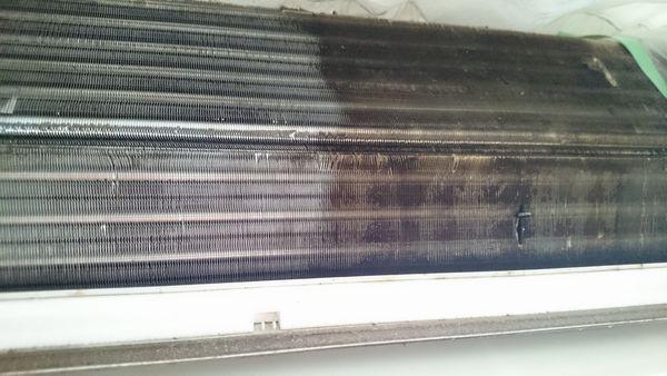 家庭用エアコンのクリーニング