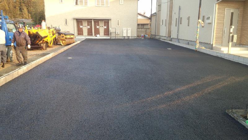 駐車場舗装工事 千葉市稲毛区