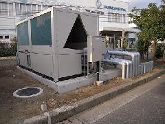 神奈川県茅ヶ崎市での半導体工場・冷水設備工事
