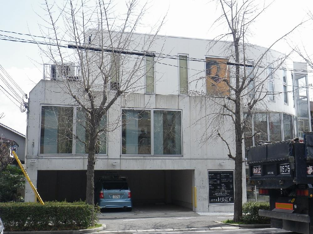 コンクリート打ち放し改修 芦屋市美容室