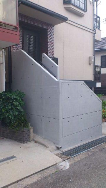 手すり壁改修工事 神戸市O様邸