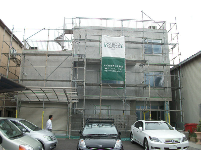 GPF改修工事 施工前