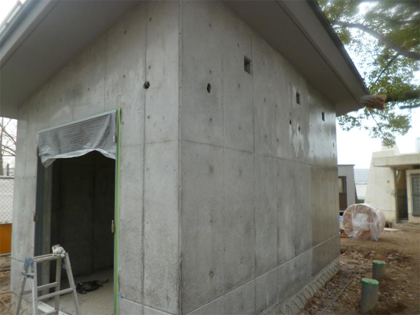 トイレ新築工事 A公園内