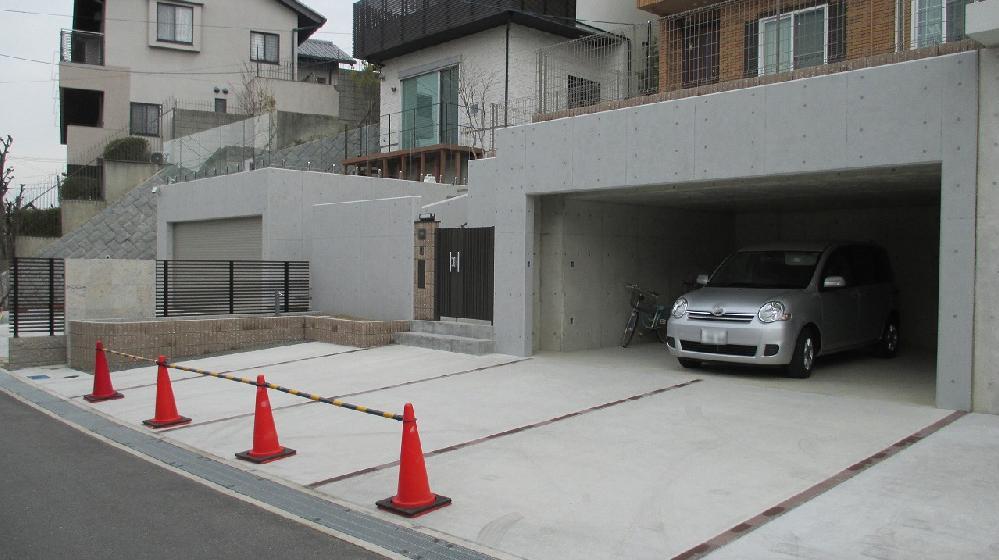 打ち放しコンクリート補修 大阪府t豊中市 Kさま邸
