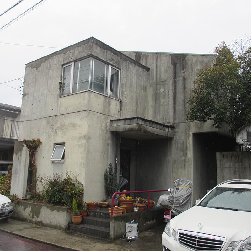 打ち放しコンクリート補修 三重県津市 Kさま邸