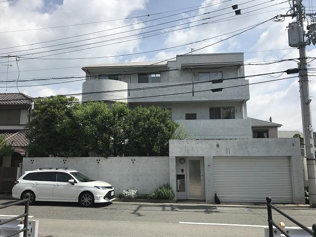 兵庫県西宮市T様邸 打ち放しコンクリート補修工事 3