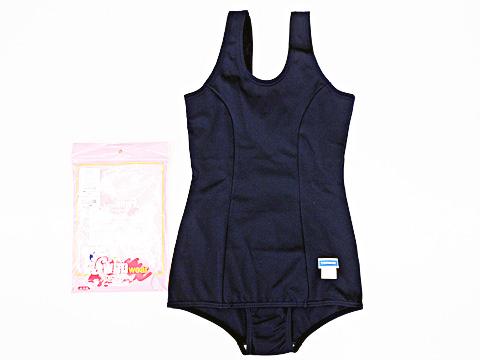 トンボ女子スクール水着スカート付120cm、130cm
