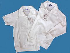 トンボ学生服 サーガ 襟付き体操服半袖、長袖 120〜150