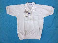 防泥体操服 半袖襟付きハーフジップ S、M、L