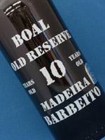 マディラ ブアル 10年 ヴィニョス・バーベイド