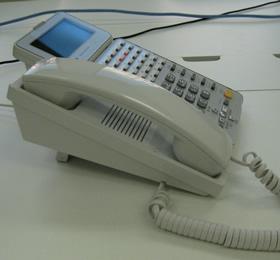 電話線を新しく配線します。