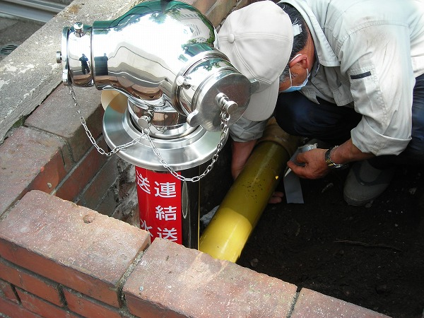 連結送水管2