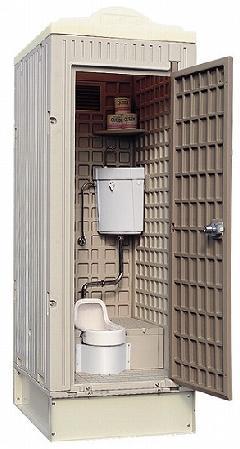 レンタル用トイレ 水洗式