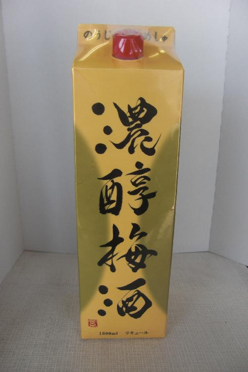 アサヒ 濃醇梅酒 1800ml パック
