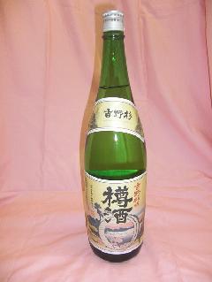 吉野杉の樽酒 1800ml