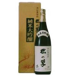 上撰 純米大吟醸 松の翠1800ml