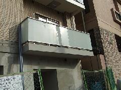 東京都渋谷区 集合住宅 バルコニー手すり工事